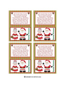 Christmas Tags and Toppers Set