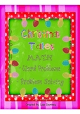 Christmas Tales Story Cards - Math Center/Take-to-Desk Folder.