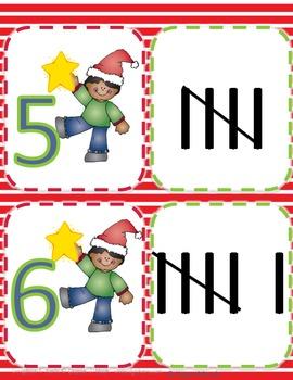Christmas Activities (Tally Marks)