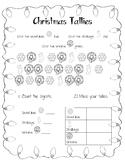 Christmas Tallies 2