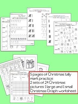 Christmas Tally Marks and Graphs