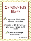 Christmas Tally Marks and Graphs