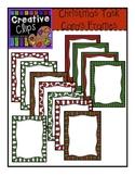 Christmas Task Card and Product Frames {Creative Clips Digital Clipart}