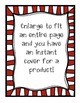 Christmas Task Card and Product Frames {Creative Clips Dig