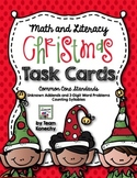 Christmas Task Cards - Math and Language Arts