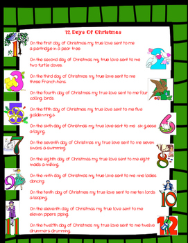 Christmas Task Cards Word Problems