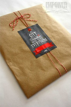 Christmas Teacher Appreciation 4th Grade Literacy Gift Pack