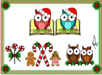 Gingerbreads- Owlies-Peppermint Candies
