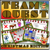 Christmas-End of Term Team Building Quiz for Middle School