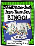 Christmas Teen Numbers Bingo --- Christmas Numbers 11-20