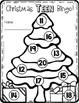 Christmas Teen Numbers Bingo --- Christmas Numbers 11-20