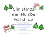 Christmas Teen Number Match Up