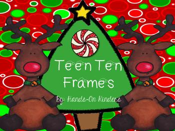 Christmas Teen Ten Frame Center