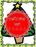 Christmas Teen Trees