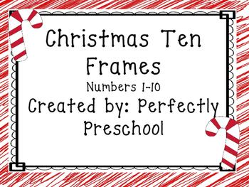 Christmas Ten Frame Cards {Dollar Deal}