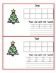 Christmas Ten Frame Counting Book