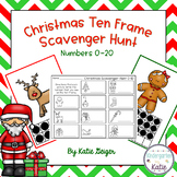 Christmas Ten Frame Scavenger Hunt