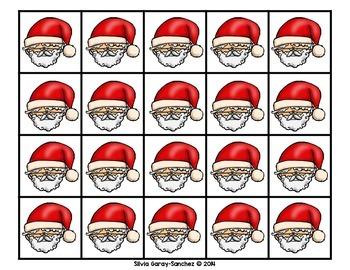 Christmas Ten Frames 0-10