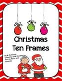 Christmas Ten Frames (Math Center)