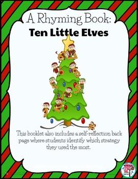 Christmas Ten Little Elves Rhyming Book