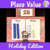 Christmas Math Activity Place Value Center