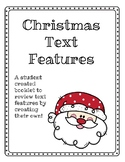 Christmas Text Features Book