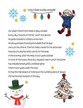 Christmas Text - First grade