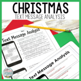 Christmas Text Message Analysis Inferencing and Citing Evidence