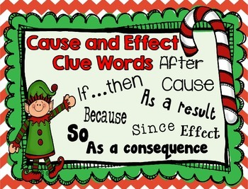 Christmas Text Structure Reading Centers - Compare Contrast, Cause/Effect!!