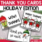 Christmas Thank You Card Set