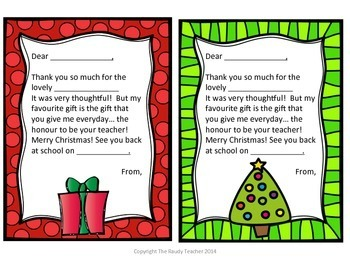 freebie christmas thank you cards - Christmas Thank You Cards