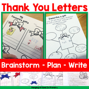 New Years Activities - Christmas Thank You Letters