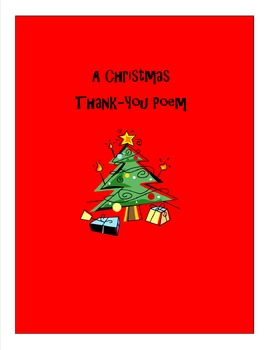 Christmas Thank-You Note