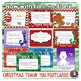 Christmas Thank You Notes - Postcard - Fill-in-the-Blank