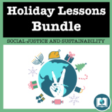 Social Justice Holiday Bundle: Thanksgiving, Christmas and