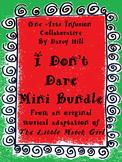 Christmas The Little Match Girl Music and Writing Mini-Bundle