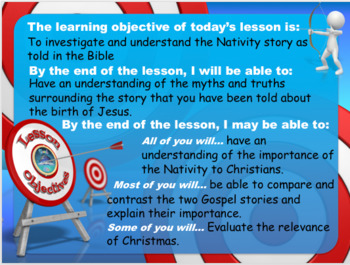 Christmas - The Nativity Birth of Jesus