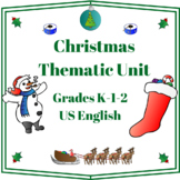Christmas Thematic Unit (Primary) for Very Busy Teachers -