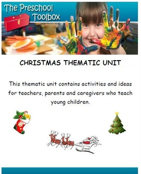 Christmas Thematic Unit for Preschool and Kindergarten
