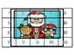 Christmas Theme 20 Chart, 50 Chart, 100 Chart Mystery Picture