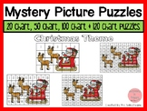 Christmas 20, 50, 100 & 120 Chart Mystery Picture Puzzles