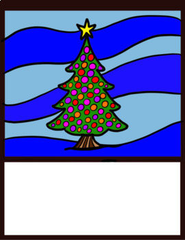 Adding Thousandths Colour by Number Page - decorative tree