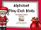 Christmas Theme-Alphabet Play-Doh Mats