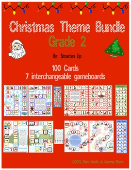 Christmas Theme Bundle Grade 2 SALE
