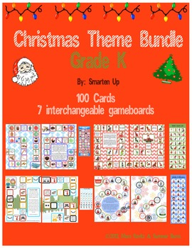 Christmas Theme Bundle Grade K SALE