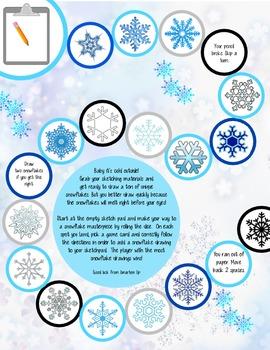 Christmas Theme Math & Literacy Review Bundle Kindergarten