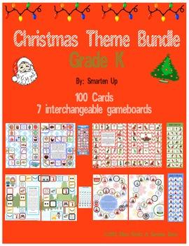 Christmas Theme Bundle Grade K SALE