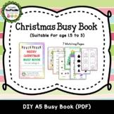 Christmas Theme Busy Book (DIY)