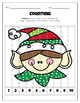 Christmas Theme Counting Puzzles (Numbers 1-10)