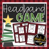 Christmas Headband Game Editable with Bonus
